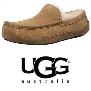 UGG Ascot Slipper Moccasins Chestnut Sz 11